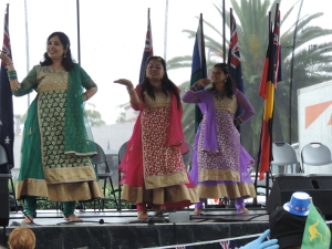 Bollywood Belles at Picnic Pt